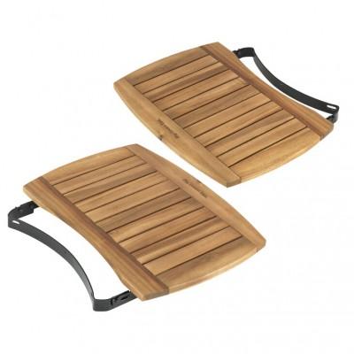 Крила для гриля L, дерев'яні з акації